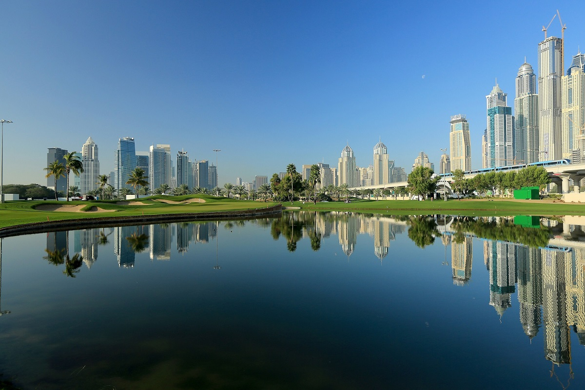 Emirates Golf Club - Faldo 18th