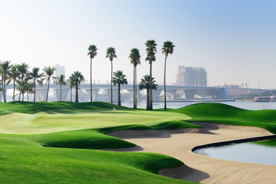 Dubai Creek 10th Hole