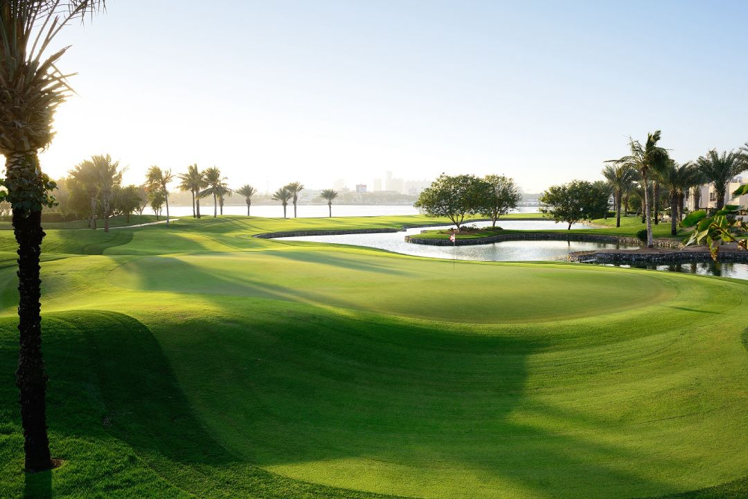 Dubai Creek 6th Hole