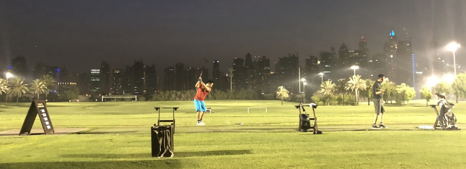 Address Montgomerie driving range