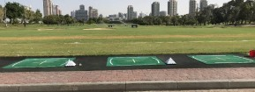 Emirates Golf Club driving range