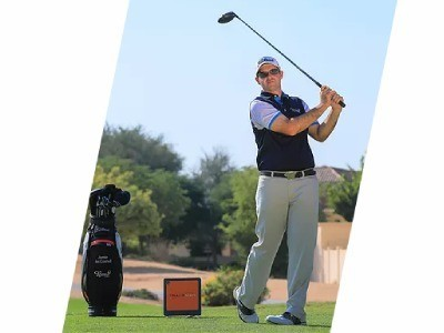 Jamie McConnell Director of Instruction at the Claude Harmon Performance Academy Dubai
