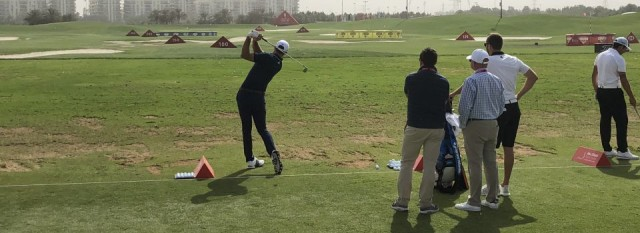 Abu Dhabi Golf Club Driving Range