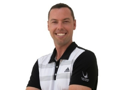 Mathew Parker Director of Instruction at Yas Links Golf Club