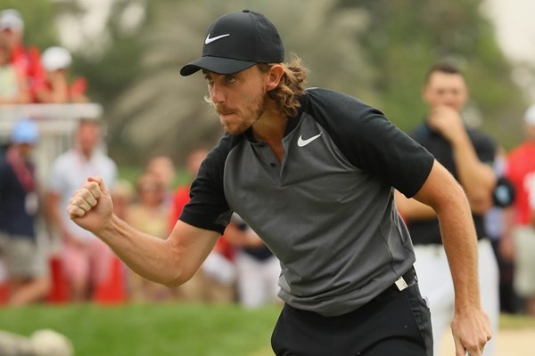 2017 Abu Dhabi HSBC Golf Championship Winner Tommy Fleetwood