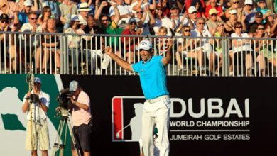 Photo of Quiros burns up the Earth to take a four shot lead in the Dubai World Championship