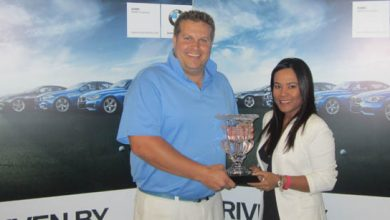 Photo of Bruce and Wilcox crowned Jumeirah Golf Estates Mixed Open champions