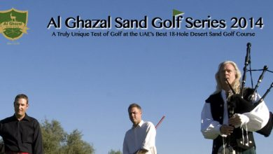 Photo of Registrations now open as the Al Ghazal Golf Club Launches the 2014 Al Ghazal Sand Golf Series