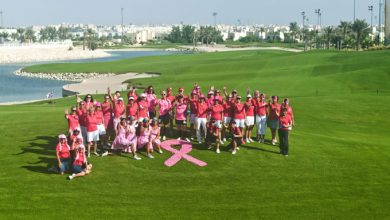 Photo of Think Pink Royal Golf Club Bahrain charity Golf day success