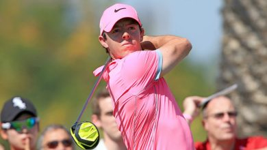 Photo of Rory Mcilroy turns red hot on a Pink Friday at the Omega Dubai Desert Classic
