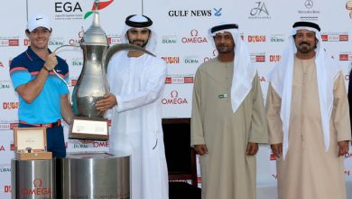 Photo of World number one Rory Mcilroy cruises to a second Omega Dubai Desert Classic title