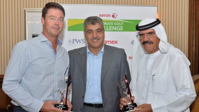 Photo of 5 teams clinch the top spots at Yas Links to claim places in the Xerox Corporate Golf Challenge Grand Final