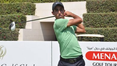 Photo of Three-way tie for lead at Shaikh Maktoum Dubai Open at Al Badia Golf Club