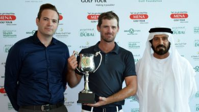 Photo of Barth lands MENA Golf Tours Shaikh Maktoum Dubai Open with back 9 blitz