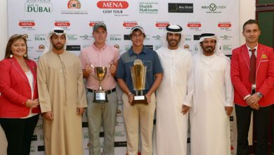 Photo of Young South African prodigy Thriston Lawrence walks away with 2015 Mena Golf Tour Order of Merit title