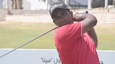 Photo of England's James Allan and India's Rayhan Thomas knocking on the Mena Golf Tour doors of success