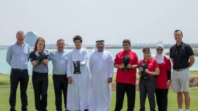 Special Olympics UAE Golf Team