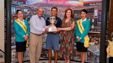 Alberto Rubio, winner of the 26th DDF Golf Cup