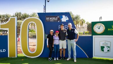 Local UAE amateur golfers