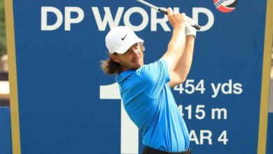 Photo of Tommy Fleetwood under no pressure in Dubai