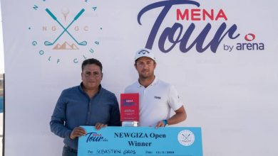 Photo of Sebastien Gros strolls to NEWGIZA Open title