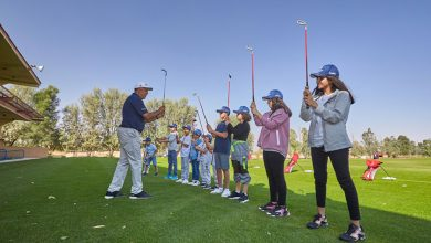 Tadrees Holding Golf clinics